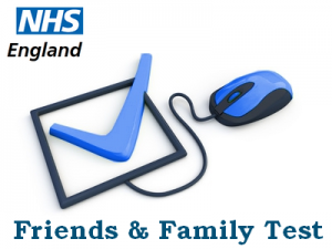 NHS Friends and Family Test - submit your feedback